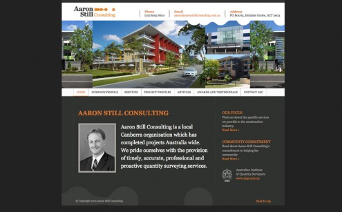 Aaron Still Consulting Website