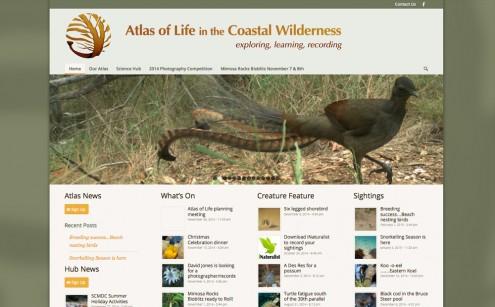 Atlas of Life in the Coastal Wilderness Website