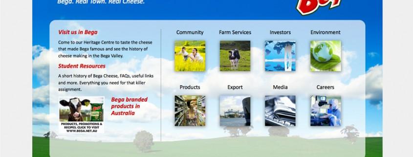 Bega Cheese Website