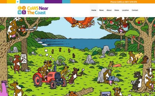CoWS Near the Coast Website