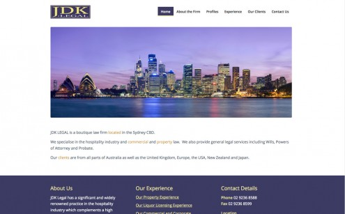 JDK Legal Website