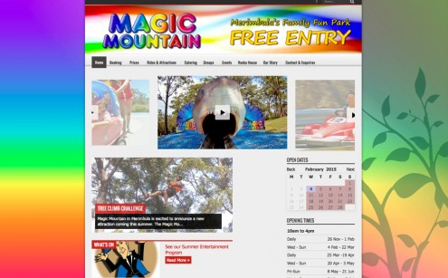 Magic Mountain Website