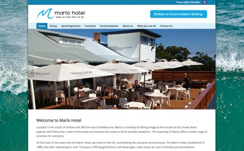 Marlo Hotel Website