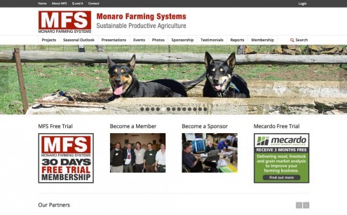 Monaro Farming Systems Website