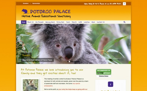 Potoroo Palace Website