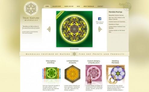 True Nature Mandalas Website
