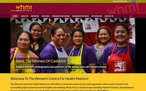 Women's Centre for Health Matters Website